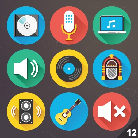 cd: Icons for Web and Mobile Applications