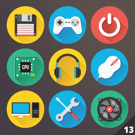 storage device: Icons for Web and Mobile Applications