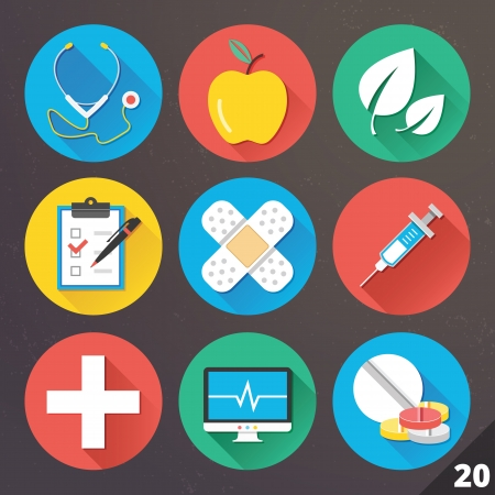 cardiogram: Icons for Web and Mobile Applications