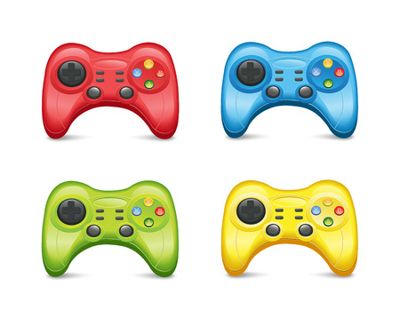 Gamepad Set2 Vector