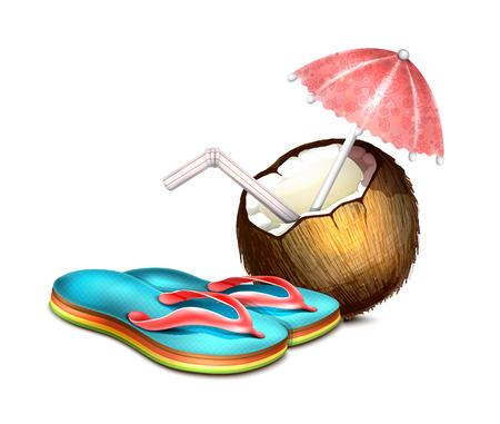 bali: Coconut and Flip Flops