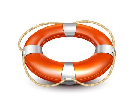 preserver: Lifebuoy  Illustration