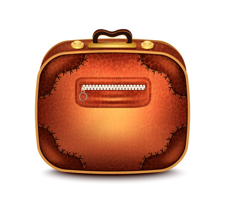leather goods: Suitcase