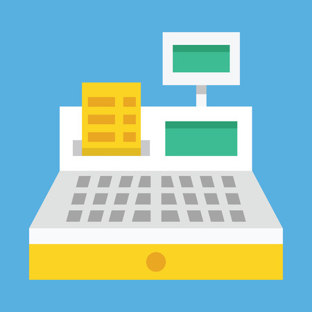 cash:  Cash Register Icon