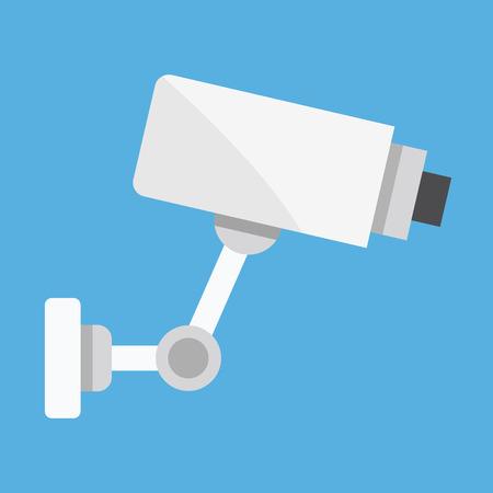 CCTV Video Surveillance Camera Vector