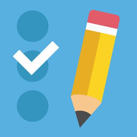 checklist:  Checklist Icon Illustration