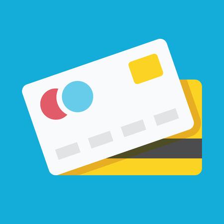 tarjeta visa: Icono de la tarjeta de crédito