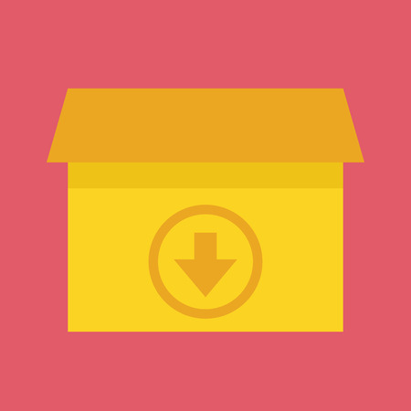 Download Box Icon Vector