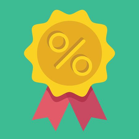 market place:  Gold Sale Badge Icon