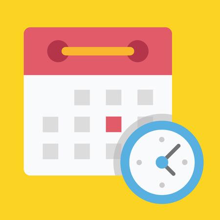 Schedule Icoon Stock Illustratie