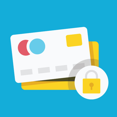 Credit Card Protection Concept Icon