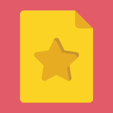 addendum:  Favorite Document Icon