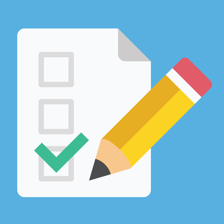 checklist: Form Pencil and Tick Icon