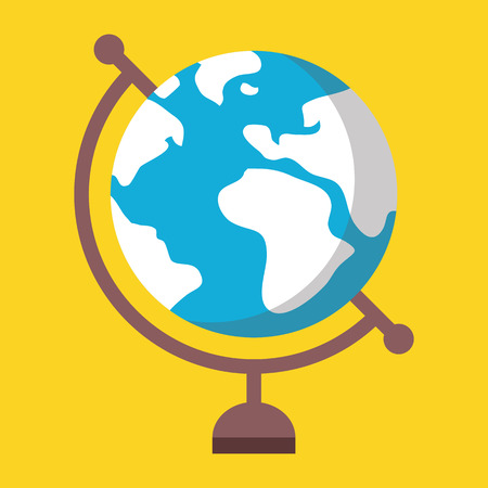 globe  the terrestrial ball: Globe Icon