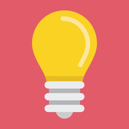 bombillo: Bombilla del vector del icono