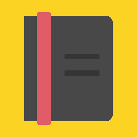 appointment book: Vector Notebook Icon