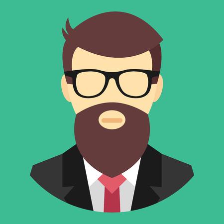 programmer: Vector Programmer Icon Illustration