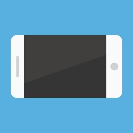 Vector Smartphone Landscape Orientation Icon Stock Vector - 26567736