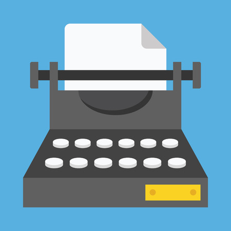 Vector Typewriter Icon Stock Vector - 26567797