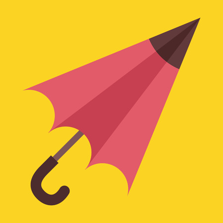 nylon: Vector Umbrella Icon