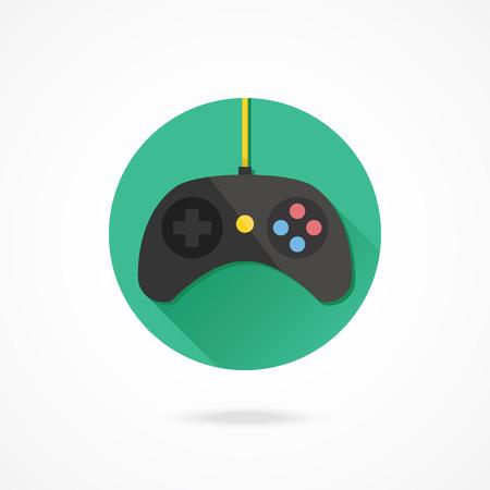 game controller: Vector Black Gamepad Icon