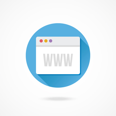 Vector Browser Icon Illustration