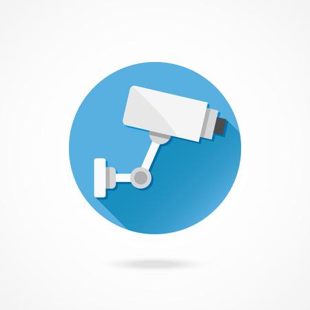 Caméra de surveillance CCTV Vecteur Vidéo