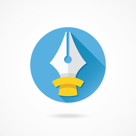 nib: Vector Fountain Pen Nib Illustration