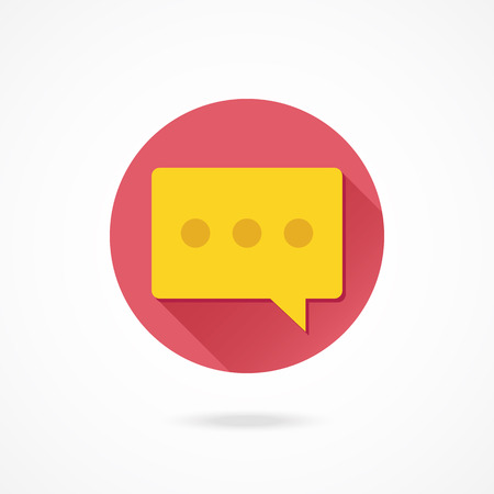 vector message: Vector Message Icon Illustration