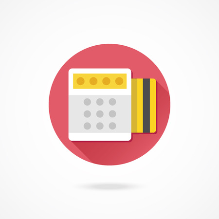 Vector Pago por Credit Card Icon
