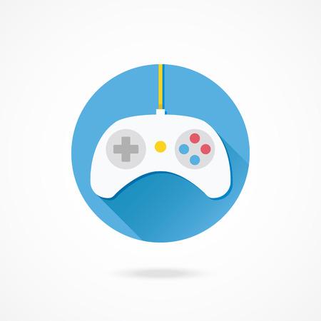 gamepad: Vector Gamepad Icon Illustration