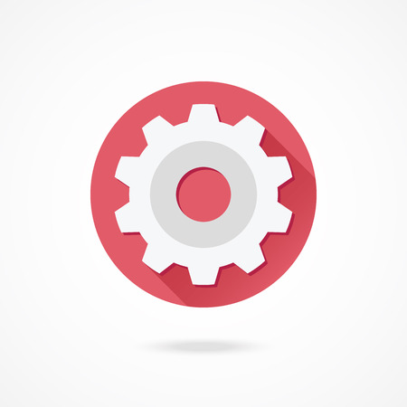 customize: Vector Gear Icon Illustration