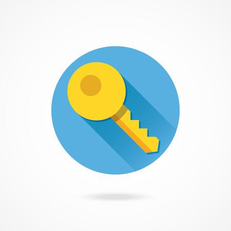 bank account: Vector Key Icon