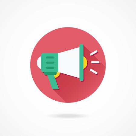 mega phone: Vector Loudspeaker Icon