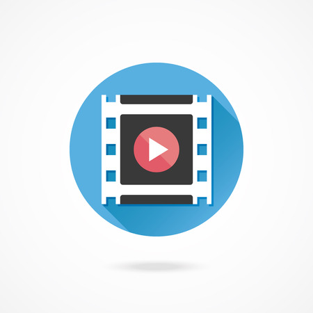 Vector Media Player Icon Vector