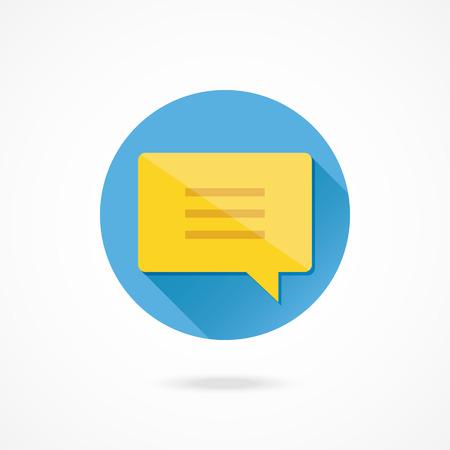 message vector: Vector Mensaje Icono de chat