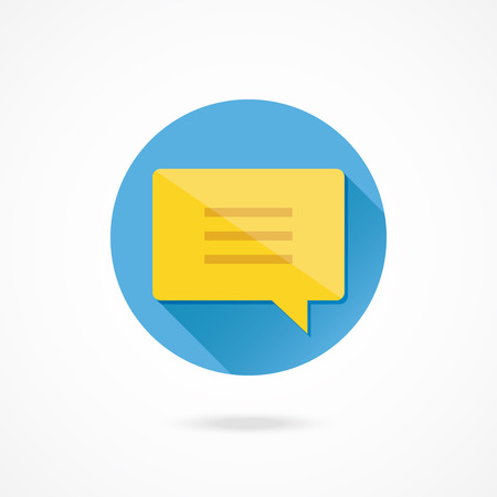 Vector Message Chat Icon Vector