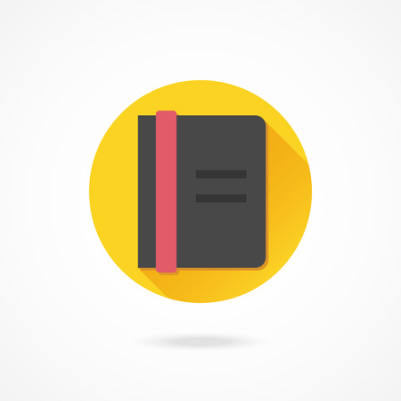 Vector Notebook Icon Vector