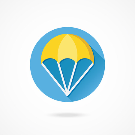 Vector Parachute Icon Vector