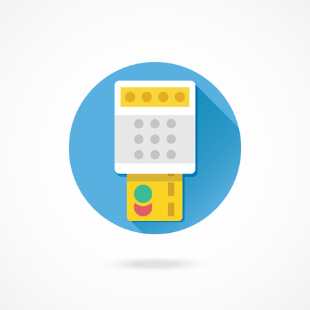 Vector Payment by Credit Card Icon Transaction Concept Vector