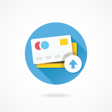 Vector Put Credit Card Icon Vector