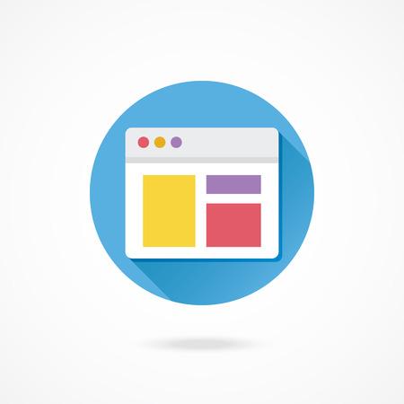 レスポンシブ Web デザイン アイコンをベクトル