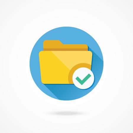 archive site: Vector Select Folder Icon