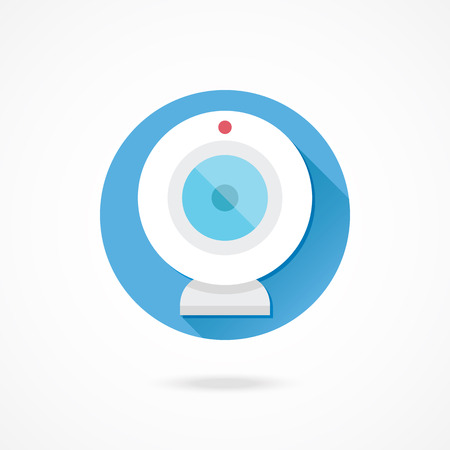 webcamera: Vector Web Camera Icon