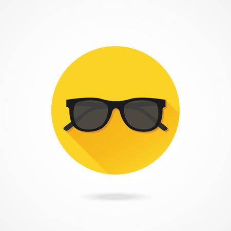 sunglasses: Vector Sunglasses Icon Illustration