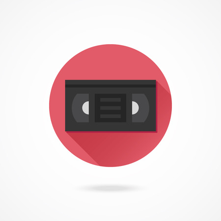 Vector Video Tape Icon Vector