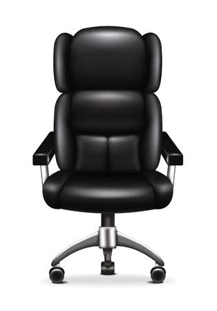 leather chair: Sedia da ufficio in pelle