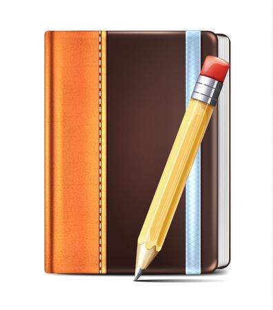 moleskin: Moleskin and Pencil Illustration