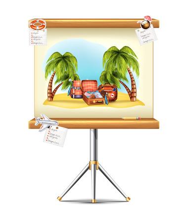 slide show: Travel Presentation Board