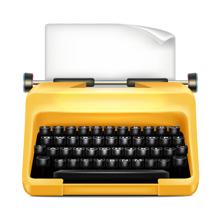 Schreibmaschine Vektorgrafik